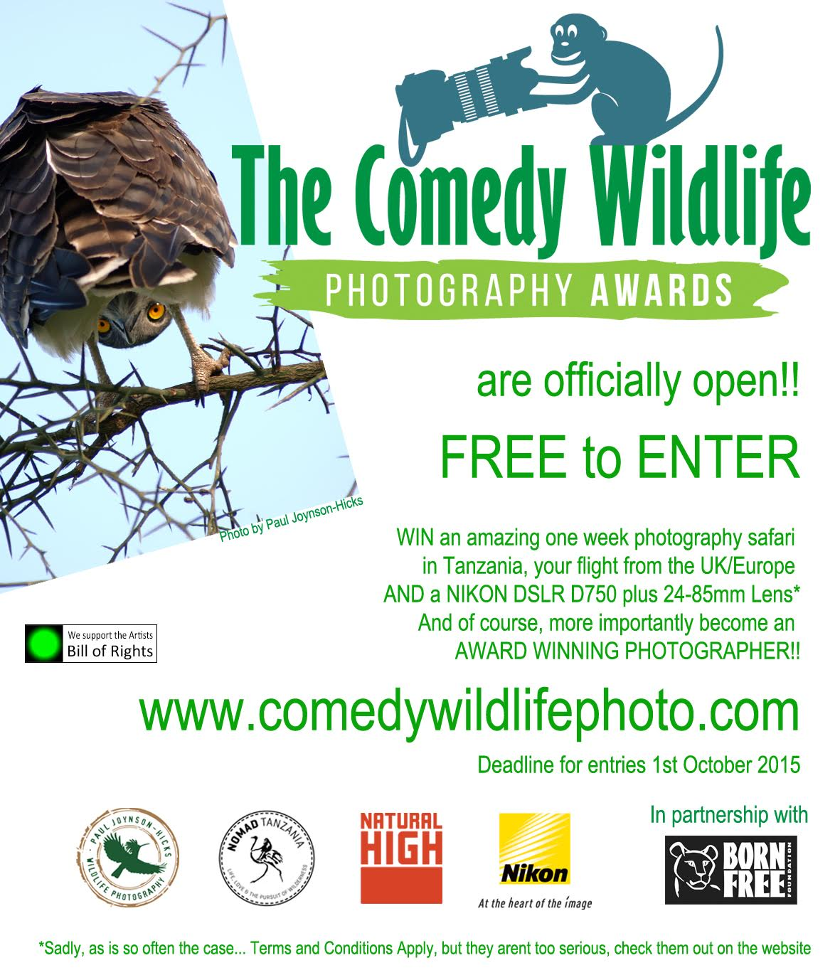 comedy wildlife full